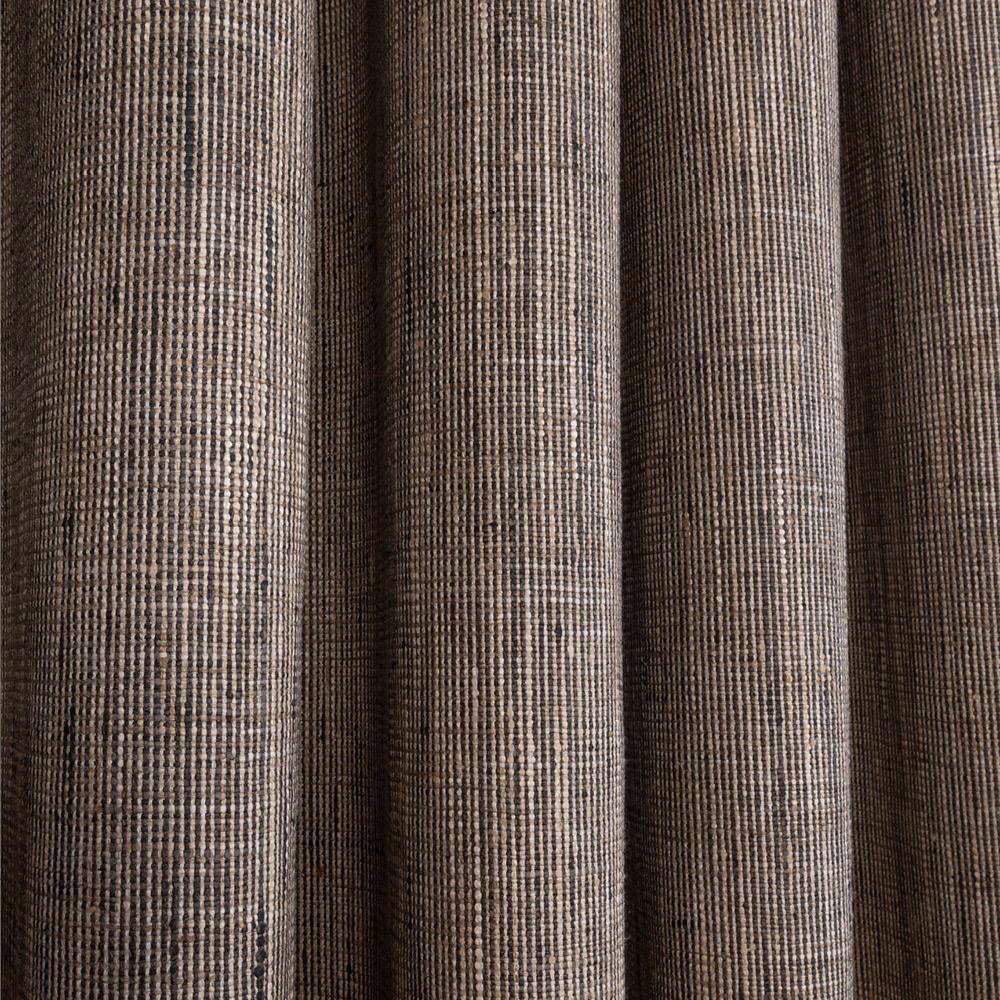 Stanhope, a black and natural textured fabric from Tonic Living