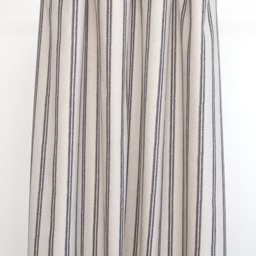 Sparrow organic vertical stripe fabric from Tonic Living