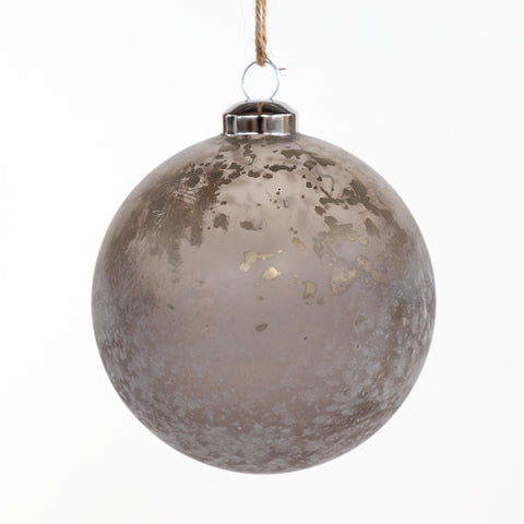 Stardust Holiday Ornament, a matte glass metallic holiday ornament from Tonic Living