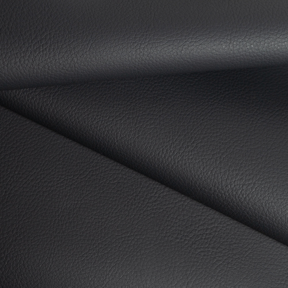 Tate cast iron black performance fake leather fabric from Tonic Living