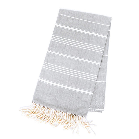 Turkish Towel - Michelle, Platinum