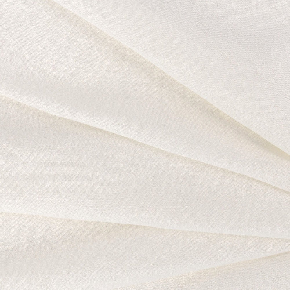 Tuscany Linen, Oyster, a creamy ivory white linen from Tonic Living
