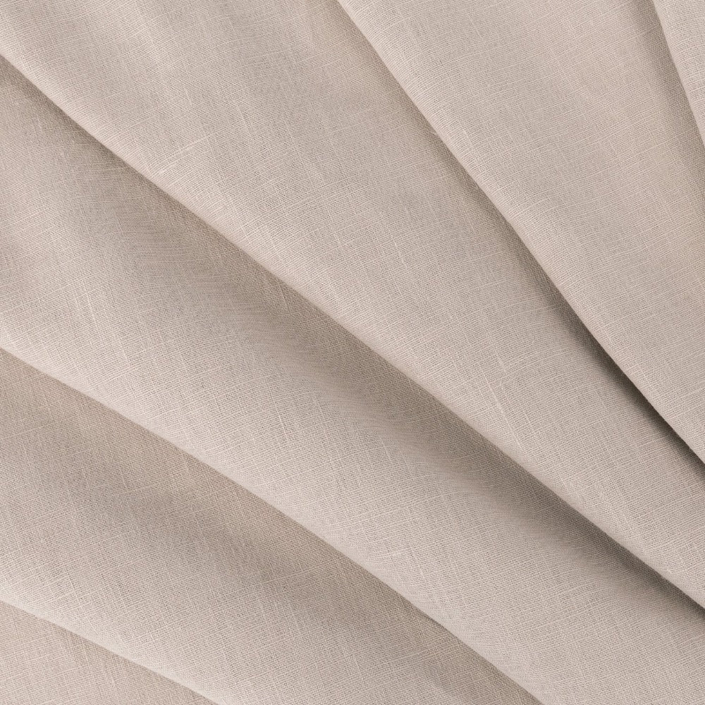 Tuscany Linen, Gleam, a warm taupe grey linen from Tonic Living
