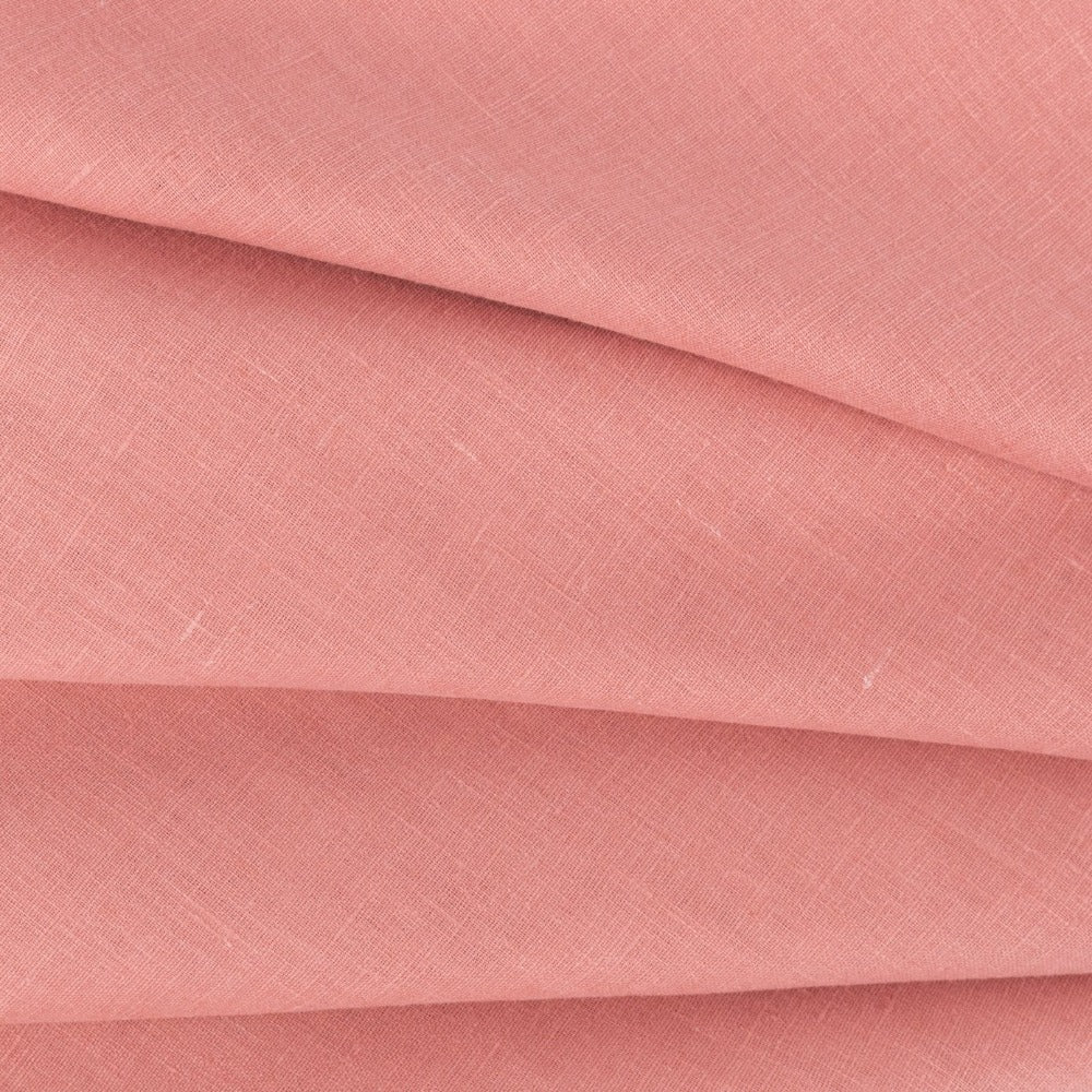 Tuscany Linen, Rosewood, a rosy pink fabric from Tonic Living