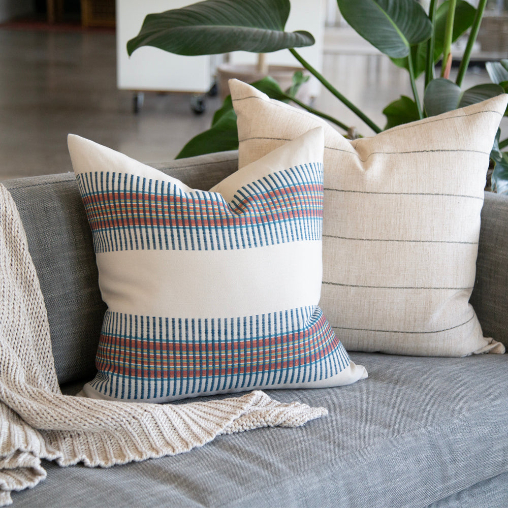 stripe tonic living pillows