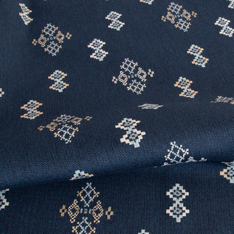Austin Fabric, Indigo, by Tonic Living