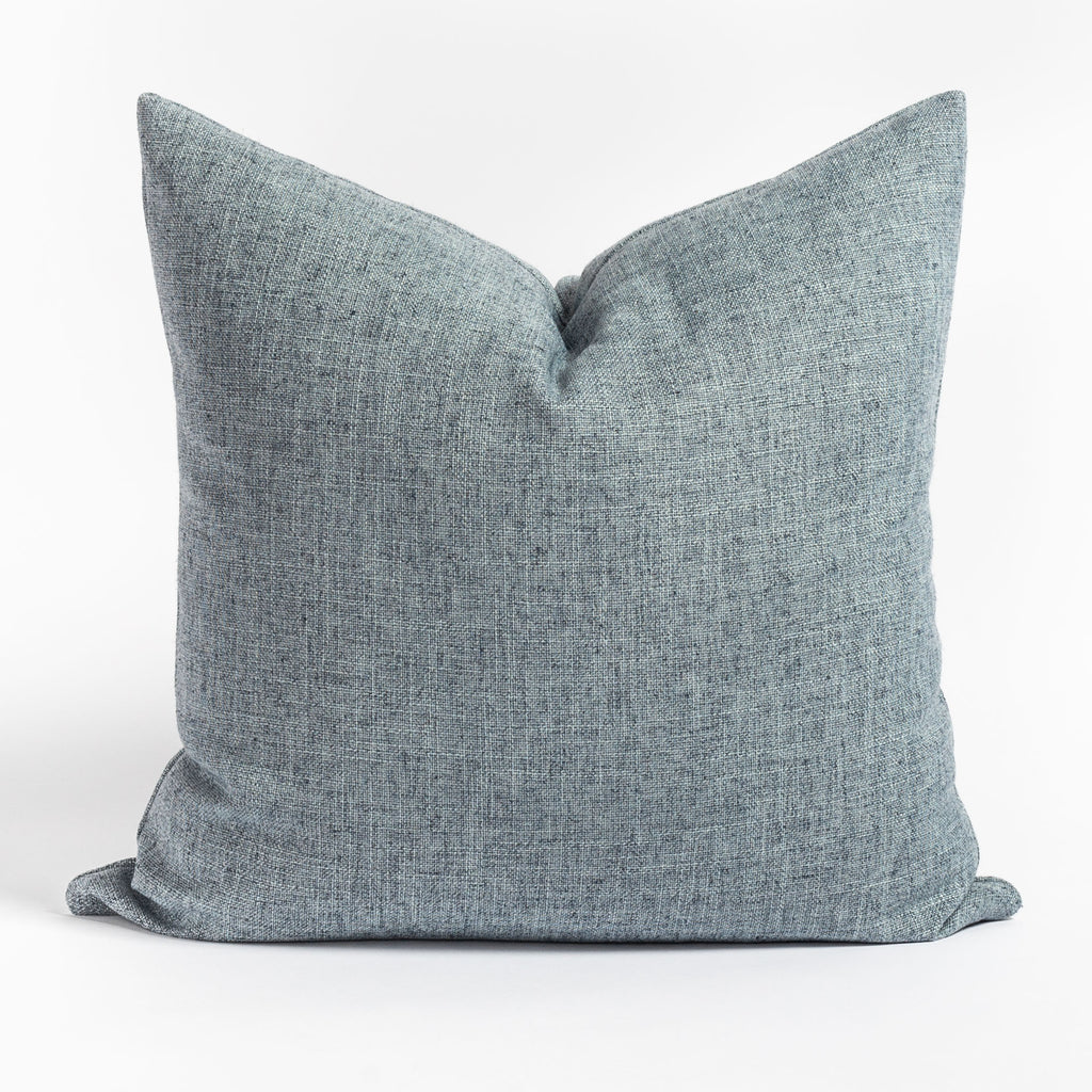 Benton Chambray Blue Pillow from Tonic Living