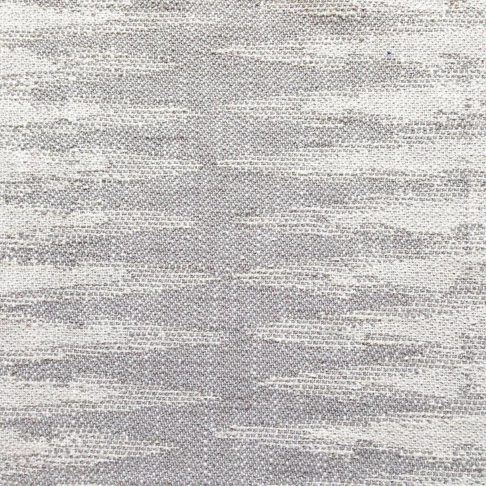 A zigzag Ikat pattern with amazing texture in grey and cream from the Justina Blakeney Home collection.