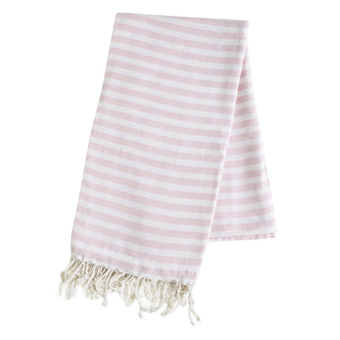 Turkish Towel - Cabana, Blush