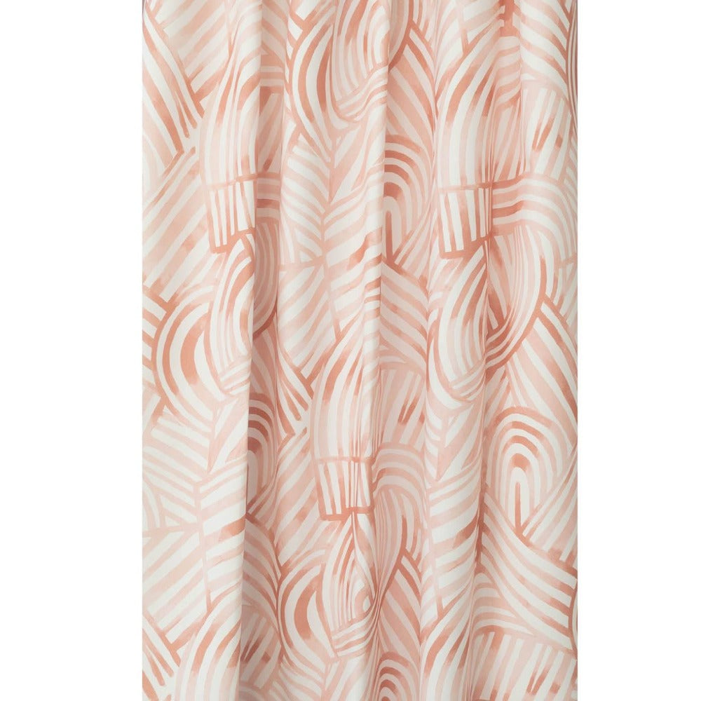 Capri Fabric, Spice, a painterly swirl pattern from Tonic Living