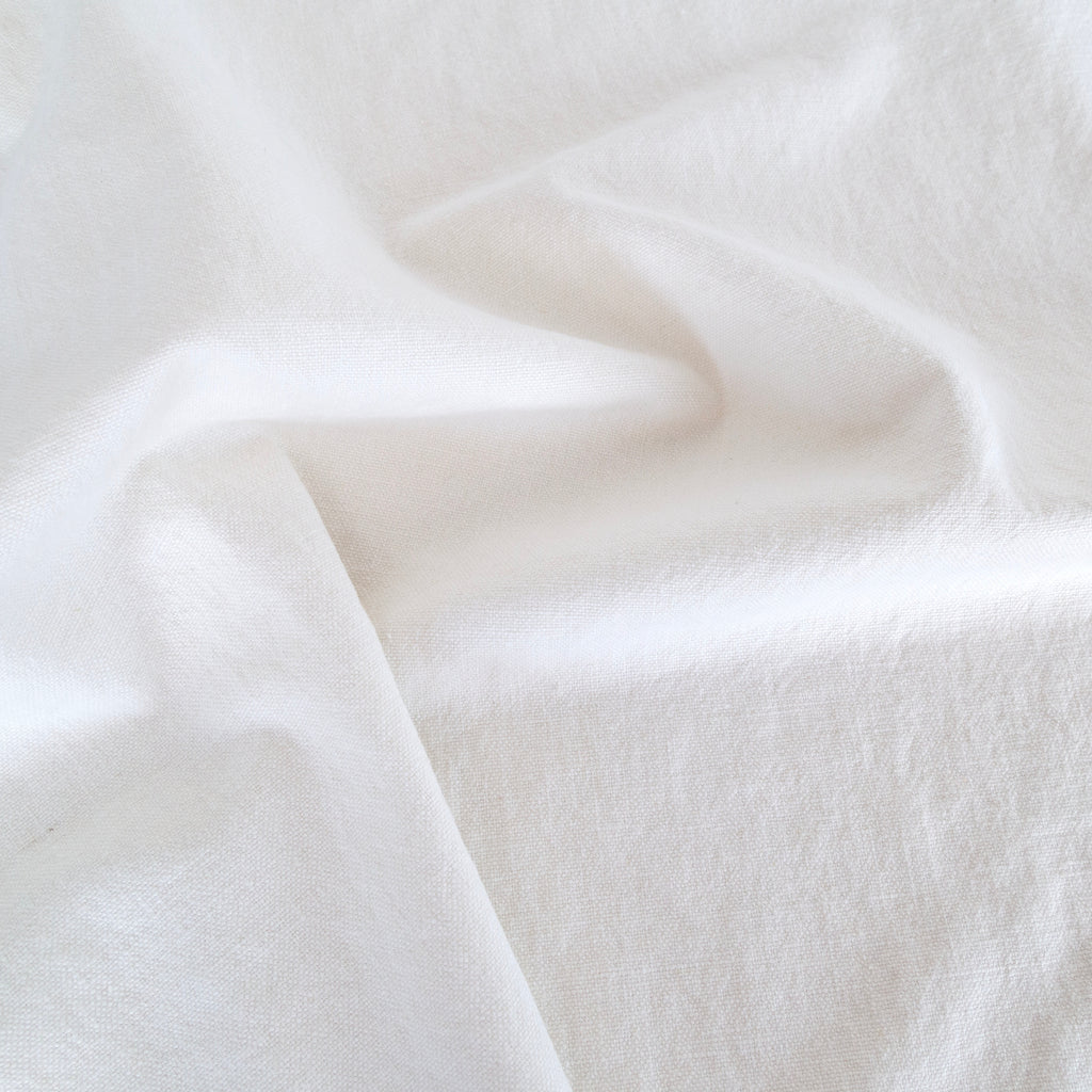 Cleary Fabric, White