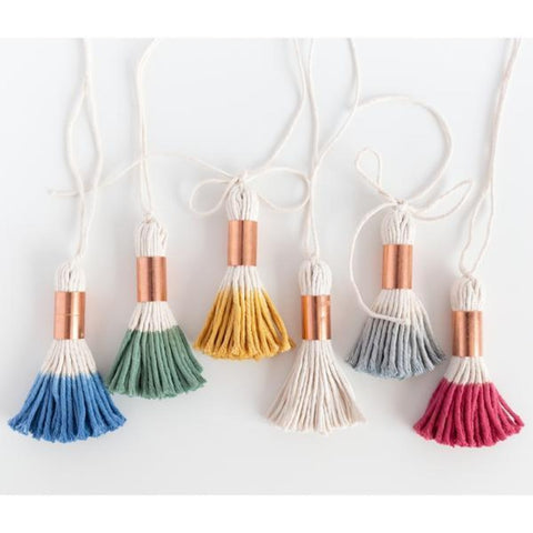 Dip Dye Tassels at Tonic Living