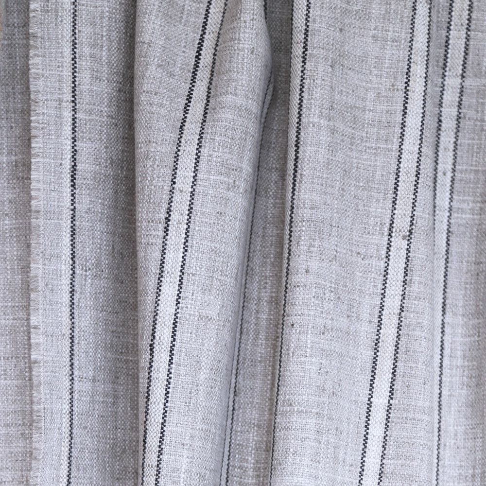 Draper Stripe, Grey - Tonic Living