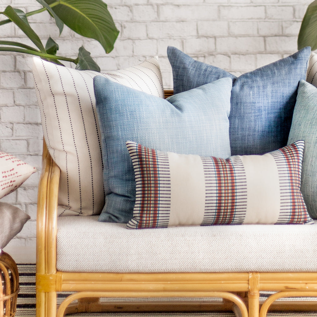 Modern outdoor pillows from Tonic Living