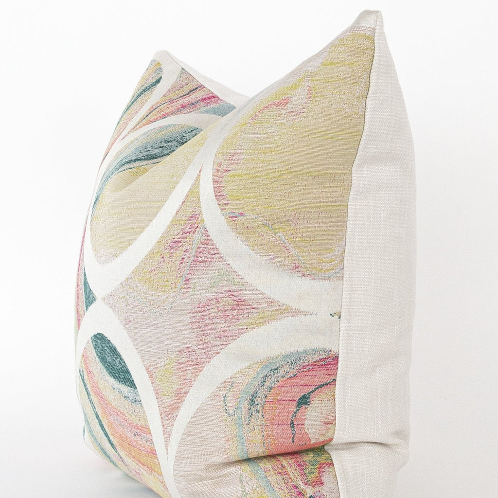 Frances marbleized pattern pillow from Tonic Living