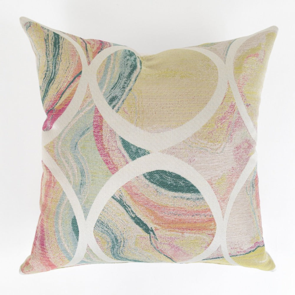 Frances marbleized pillow from Tonic Living