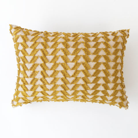 Fringe Benefits pillow by Tonic Living with Genevieve Gorder fabric