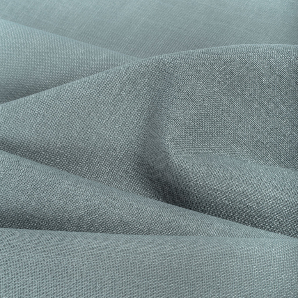 Grange Fabric Seaspray, a watery blue high performance upholstery fabric with a subtle textural weave from Tonic Living