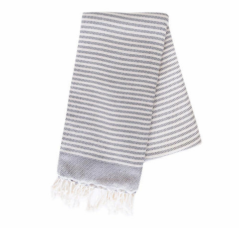 Turkish Towel - Hazleton, Stone