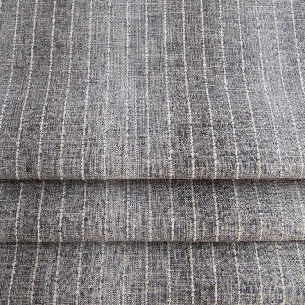 Hyden gray ombre stripe fabric from Tonic Living