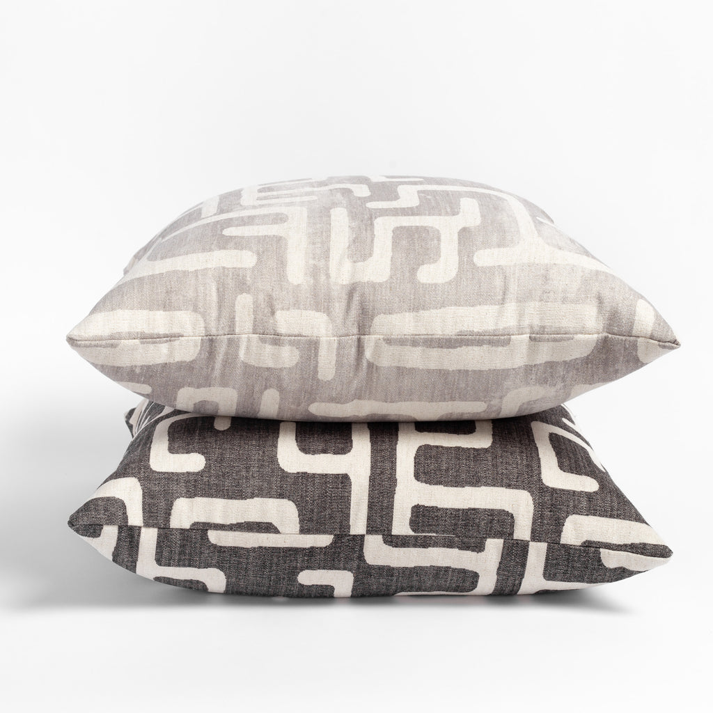 Karru kuba inspired print pillows from tonic living