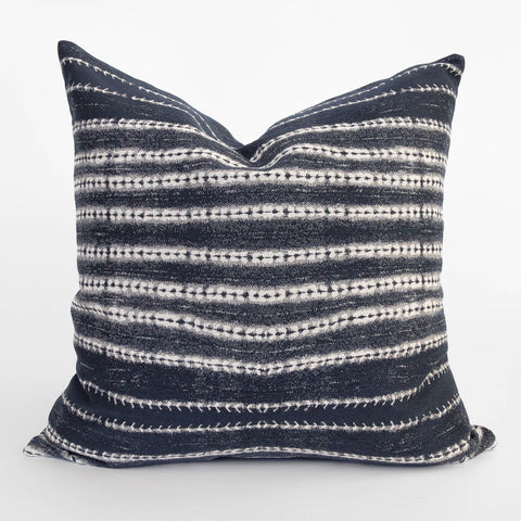 Camino, Indigo Shibori Pillow from Tonic Living