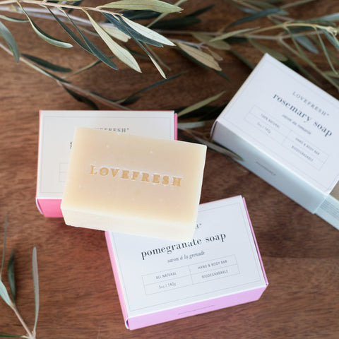 Love Fresh Bar Soap - Tonic Living