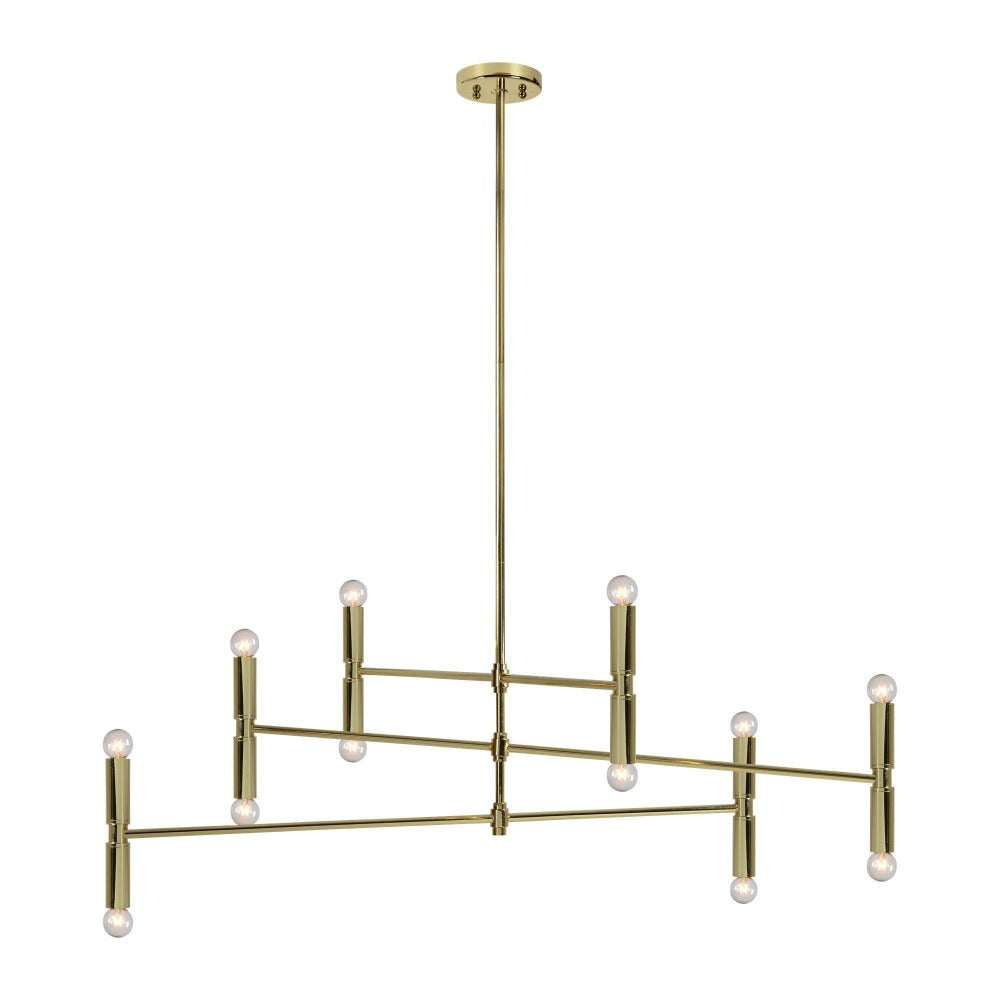 Willa brass ceiling light fixture available at Tonic Living