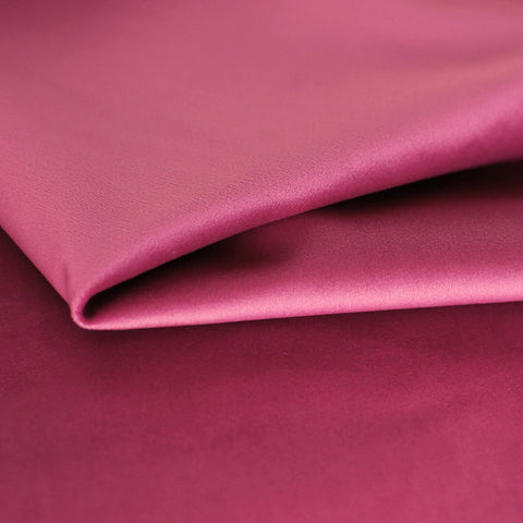 Lux Velvet, Azalea - A hot pink velvet suitable for upholstery, cushions and pillows.