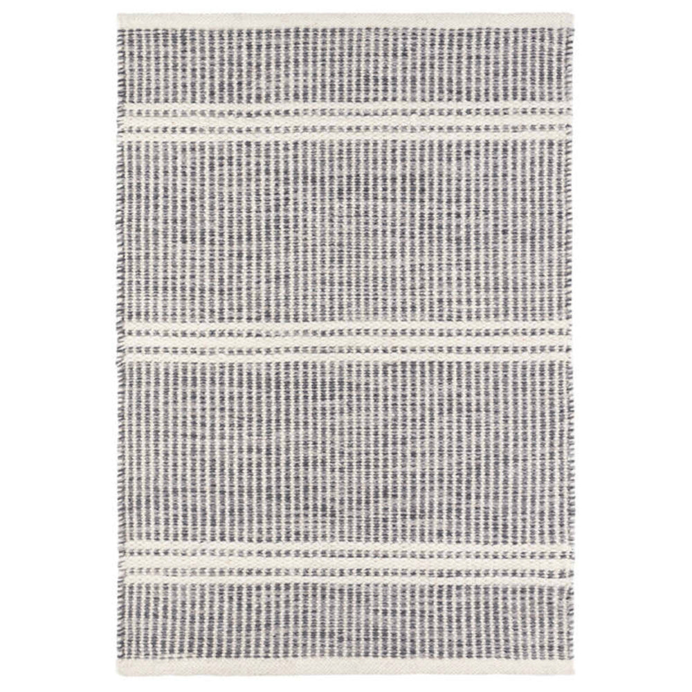 Malta grey wool Dash & Albert rug available at Tonic Living