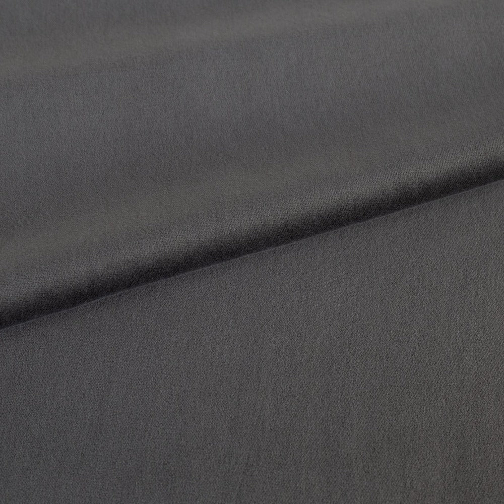 Mason Velvet, Shale- A deep grey soft velvet from Tonic Living
