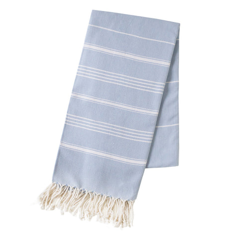 Turkish Towel - Michelle, Powder Blue