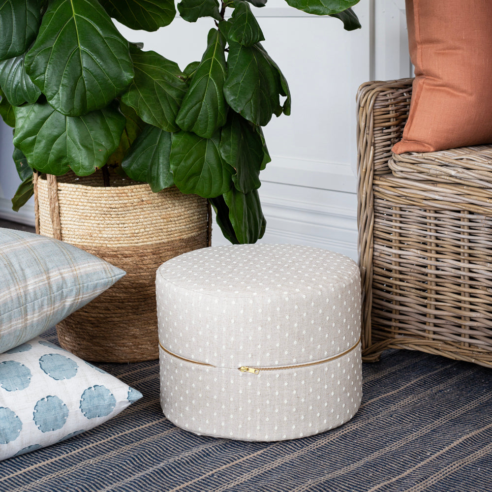 mila dot mini stool ottoman by tonic living