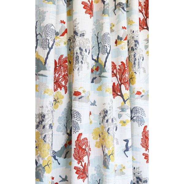 Modern Toile Persimmon Fabric New For 2016 From Robert