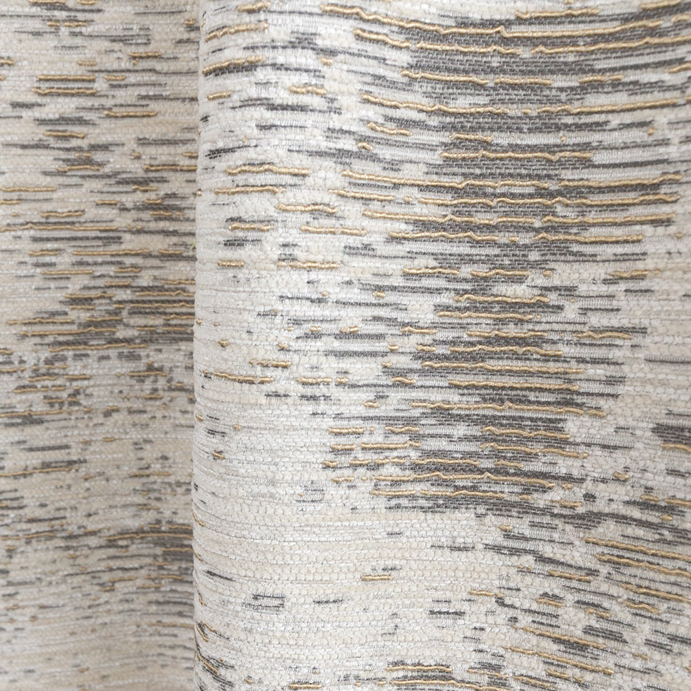 Moonwalk metallic gold textured fabric from Tonic Living