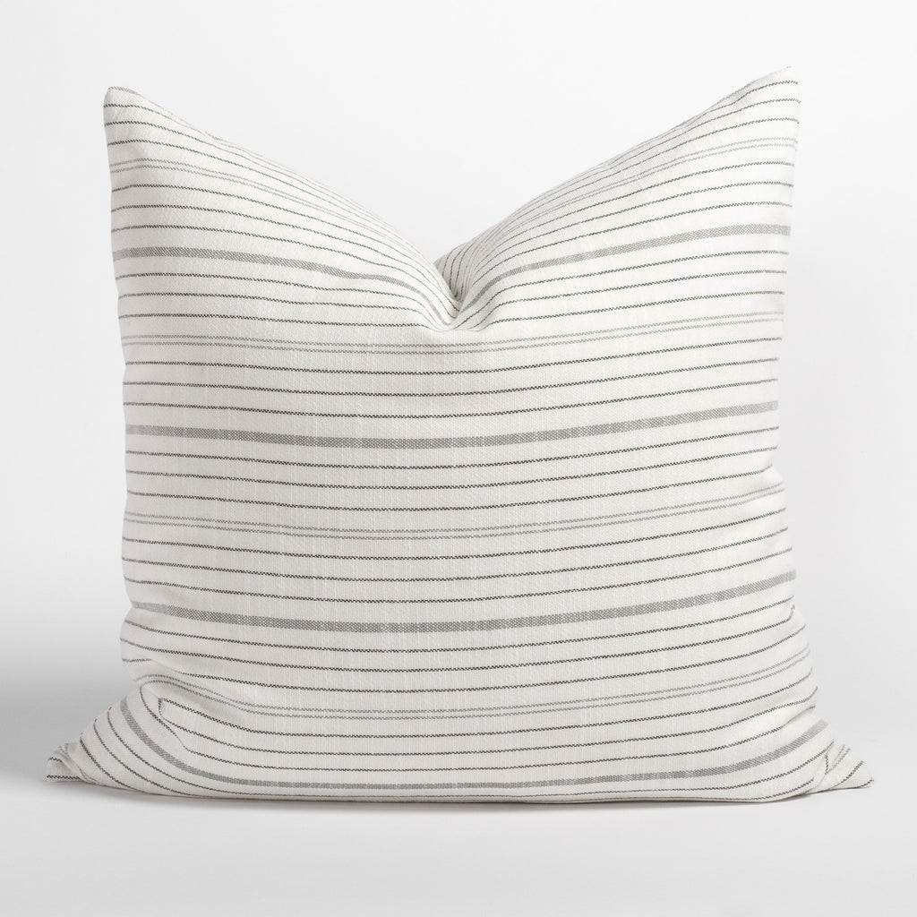Olcott 22x22 Pillow, Graphite