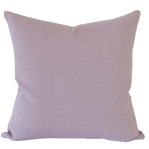 Peyton, Lilac - A dusty lilac pillow with a lovely texture. This perfect shade will add colour and depth to your decor while still remaining subtle.