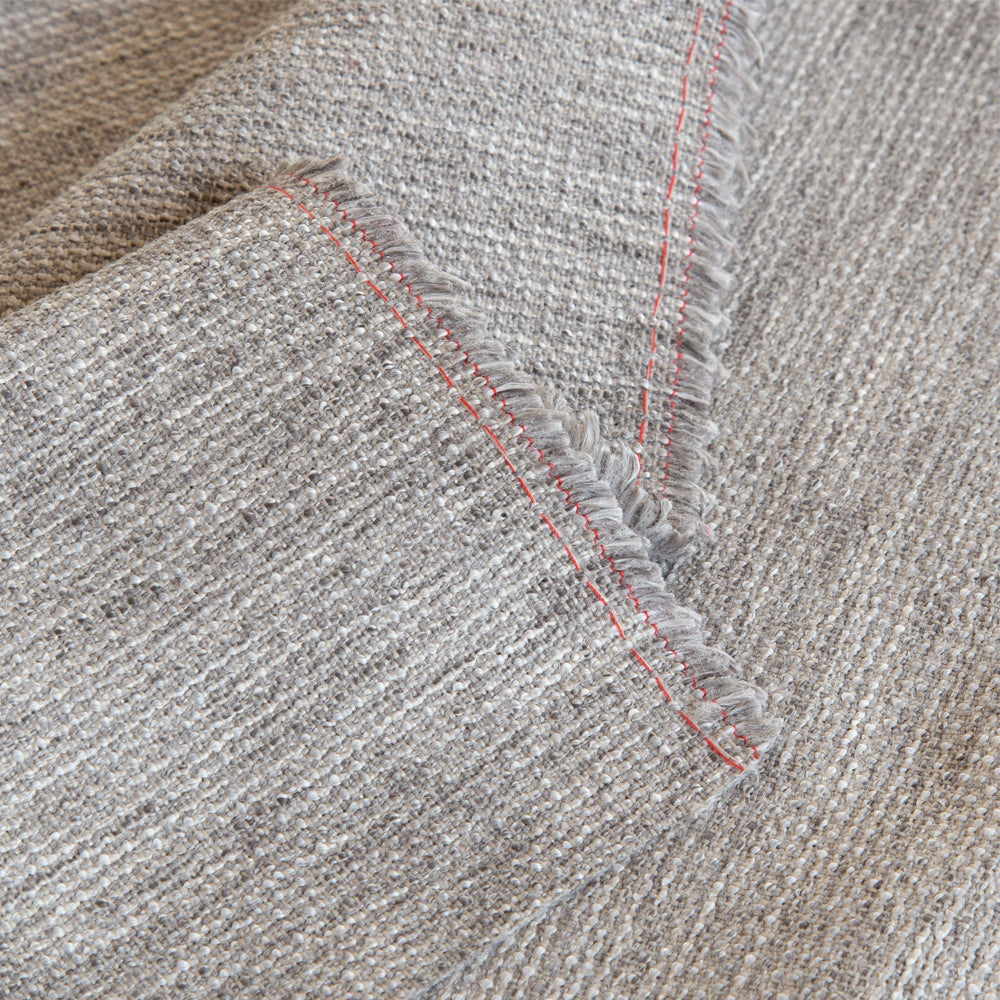 Porter grey textured upholstery fabric from Tonic Living