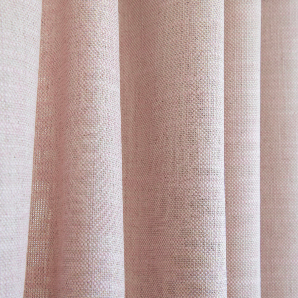 Quinto Rose Quartz, a pink drapery fabric from Tonic Living