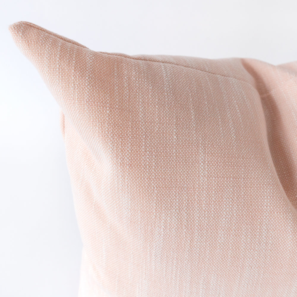 Rollo blush pink outdoor pillow by Tonic Living, former name Rollo pillow