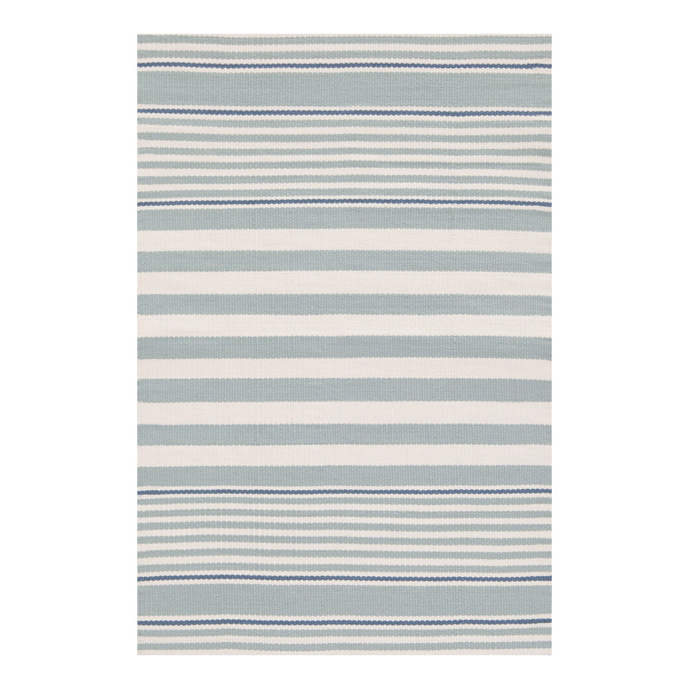 ruby stripe light blue dash and albert rug tonic living
