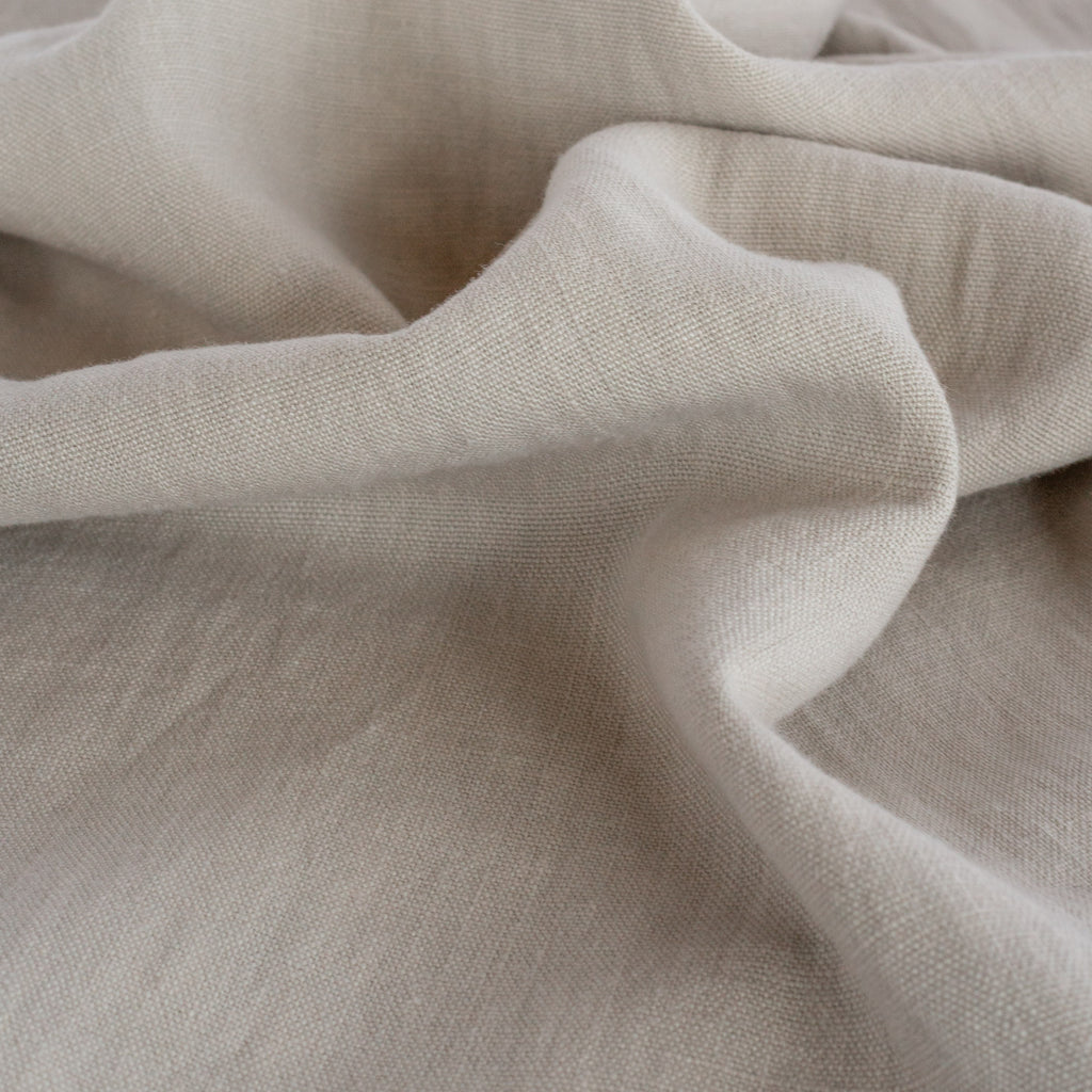 Sorrento beige linen drapery fabric from Tonic Living