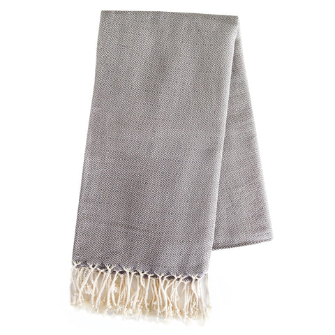 Turkish Towel - Takeda, Grey