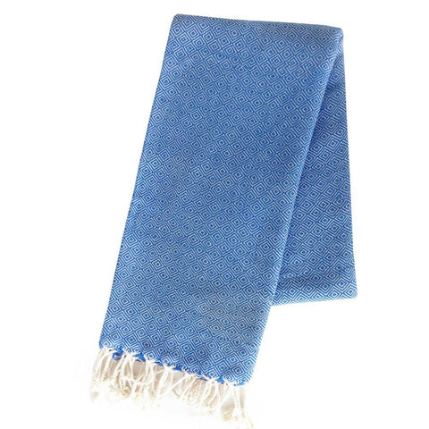Turkish Towel - Takeda, Marine Blue
