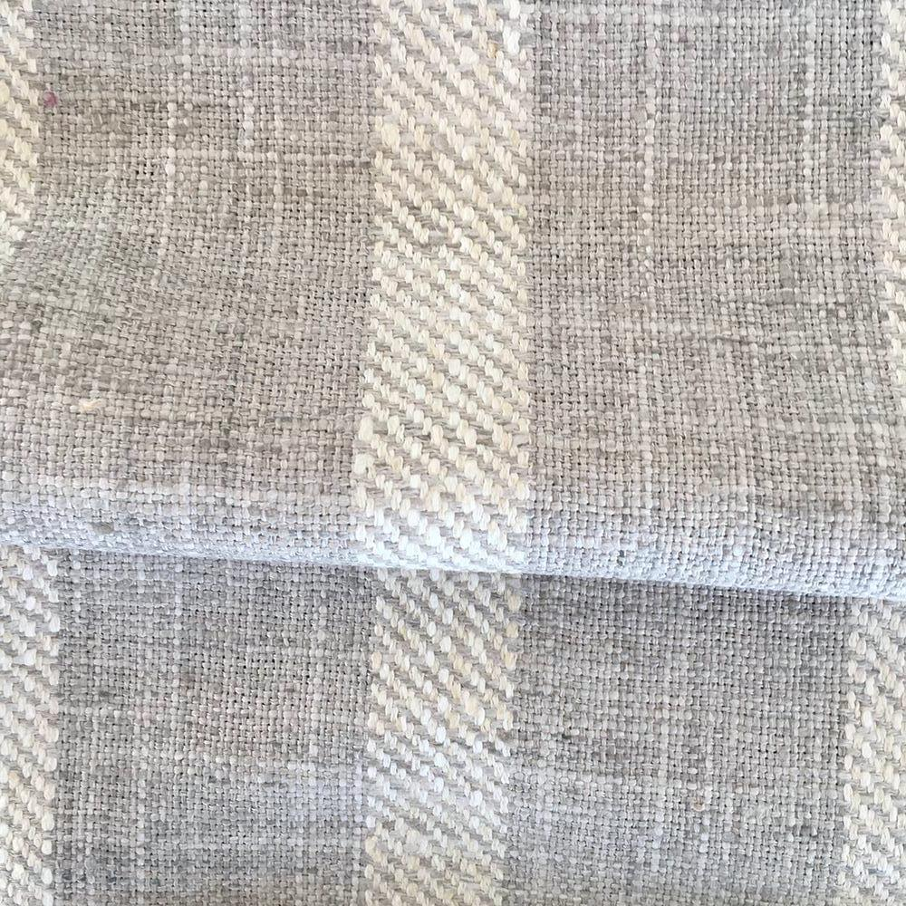 Thornton Stripe, Pearl Grey - Tonic Living