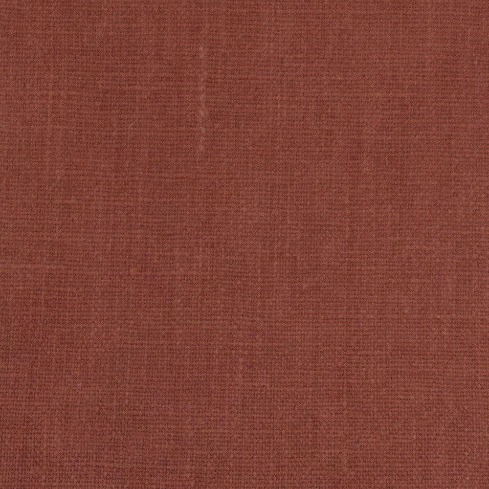 Tuscany Linen, Sumac, a rusty red drapery linen fabric from Tonic Living