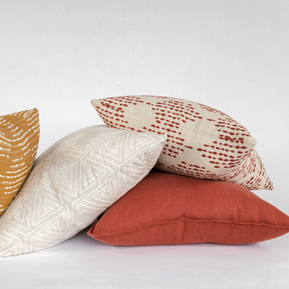 Earthy tone pillow combo from Tonic Living