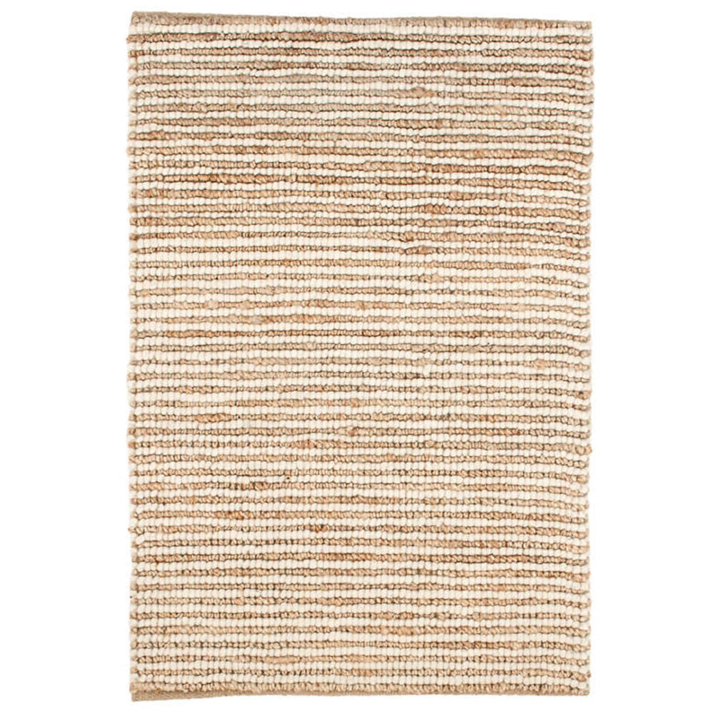 a natural wool and jute area rug from Tonic Living