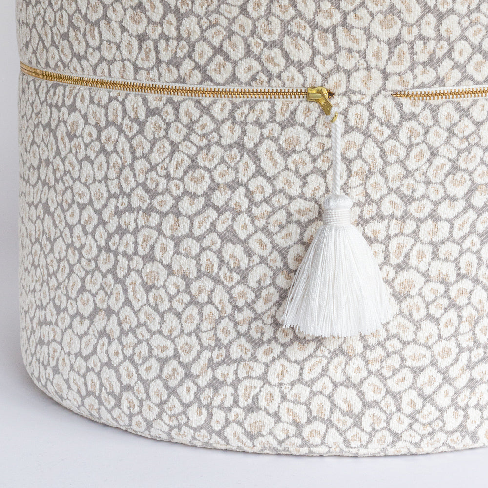 White Tassel trim accessory from Tonic Living