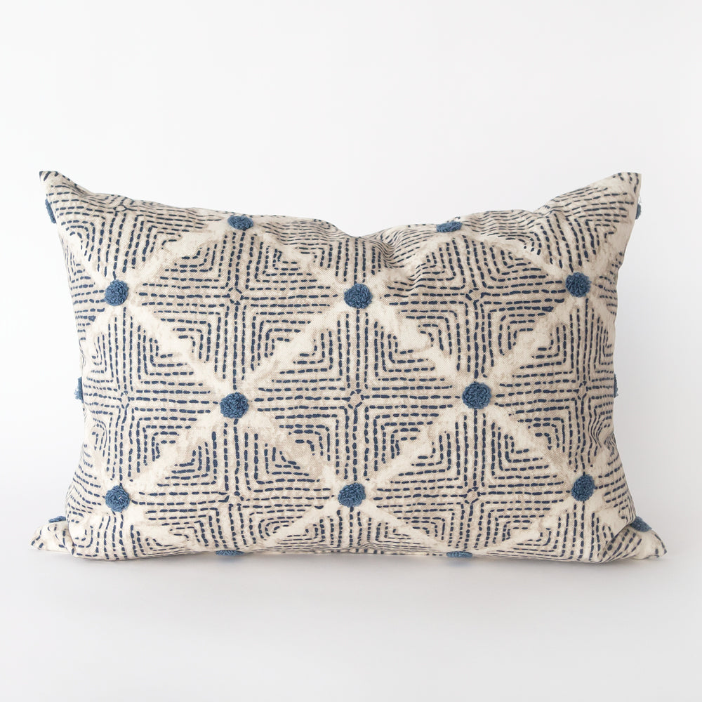 Wilshire pillow, Navy - Tonic Living